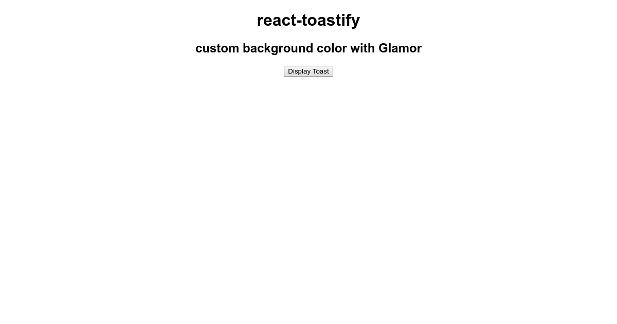 react-toastify background color