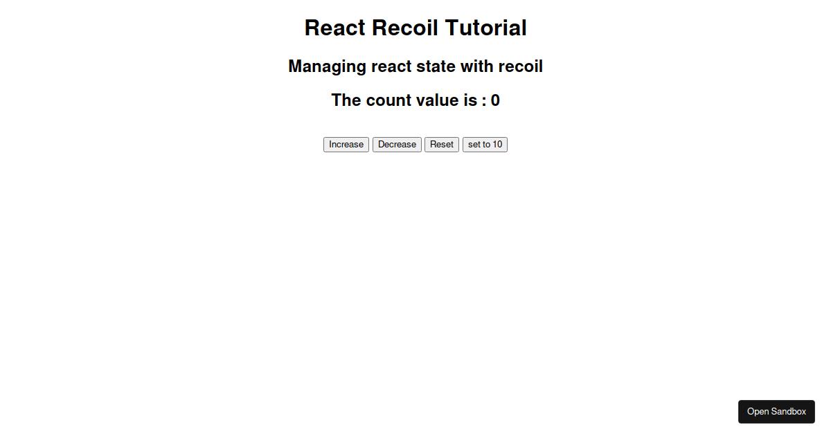 react-recoil-tutorial