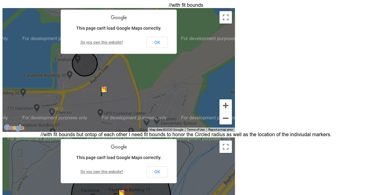 React Google Maps - CodeSandbox